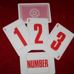1-2-3 Number Cards