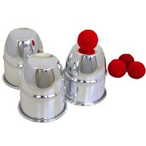 Cups And Balls (Aluminum)