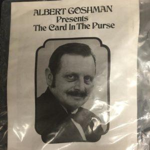 card in purse goshman
