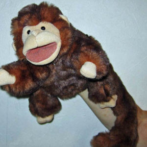Chico Monkey Puppet