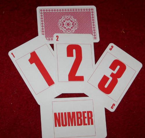 1-2-3 Number Cards