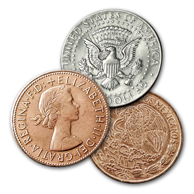 Two Copper/One Silver