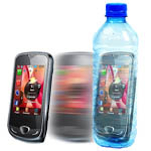 Phone Into Bottle